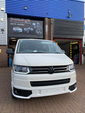 VW T5.1 Light bar headlights with dynamic indicators (Includes smoked Dynamic indicators)