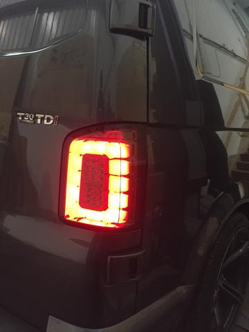 T6 Transporter Full LED rear lights (Smoked)