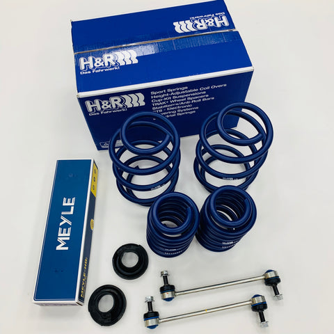 T5 T5.1 T6 H&R Springs 50mm Meyle HD Droplinks Suspension Cups 1501>-1561 KG