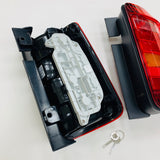 VW Caddy Rear Lights Genuine RED RHD Pair Upgrade To 2015 Onwards Style