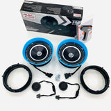 Amarok MAC Audio front and rear plug and play speaker kit