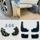 VW T6 & T6.1 Mud flaps 15 onwards (Tailgate models) perfect fit easy to install