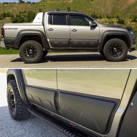 Amarok wheel arch and side body mouldings kit