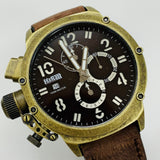 Official H&R Chronograph Watch (Bronze Face)