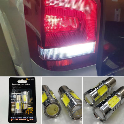 T5 T5.1 LED Reversing Upgrade Bulbs (super bright)