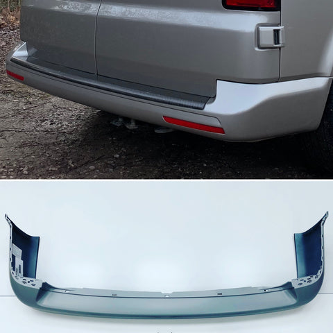 T5 T5.1 2003 - 2015 Rear Bumper Smooth Primed 2012-Style