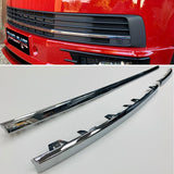 VW T6 Transporter Chrome Trims 3 Pcs For Lower Grille 15 Onwards Brand New