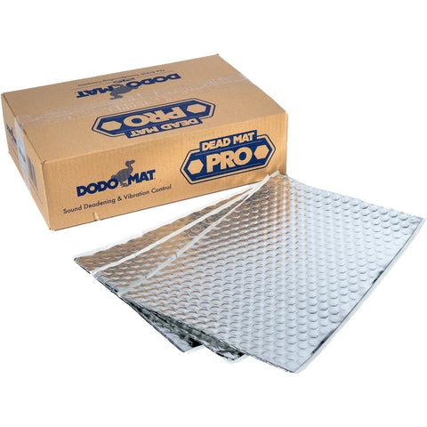 Dodo dead mat pro sound deadening bulk pack of 40 sheets
