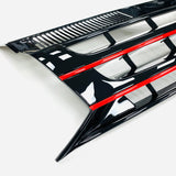 T5.1 Badgeless grille with red trim