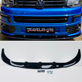 T5 Splitter Add-on for Sportline - gloss black - ABS plastic