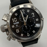 Official H&R Chronograph Watch (Silver Face)