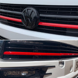 T6 Grille Upper & Lower Red Plastic Trims Brand New