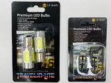 T6 LED DRL Side Light H4 Chrome Indicator (bulb upgrade)