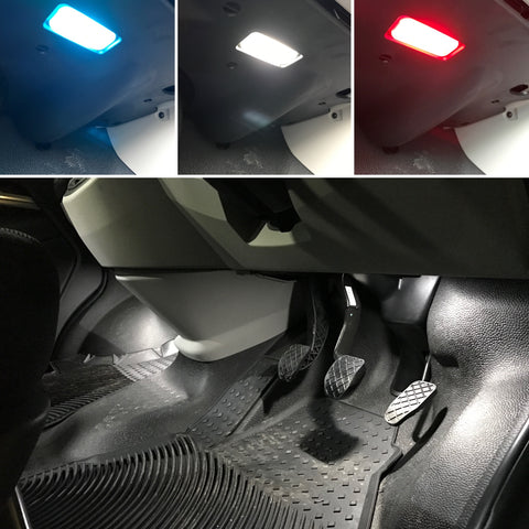 T5 T5.1 T6 T6.1 LED Footwell Lights Upgrade Kit & Trim Removal Kit (colour changing)