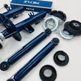 T5 T5.1 Meyle Suspension Package Front & Rear Top Mounts Droplink Covers