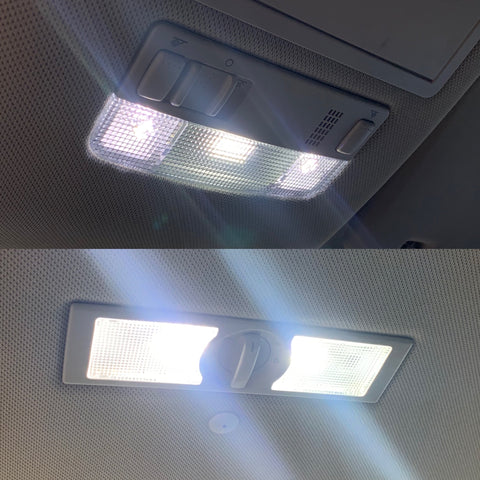 VW Amarok LED interior bulb package
