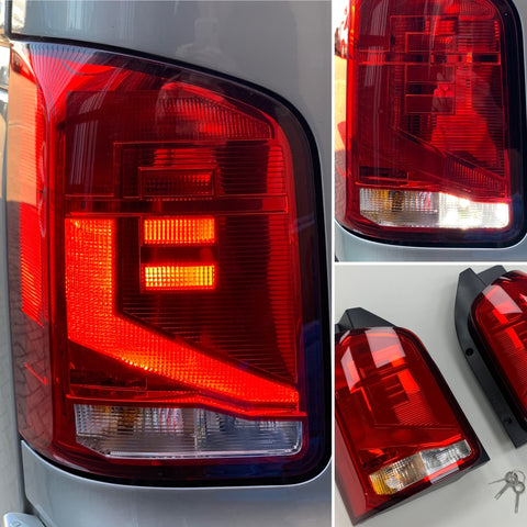 T6.1 rear light upgrade genuine VW 03-19 (Twin rear door)