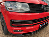 T6 Front Bumper Splitter - gloss black