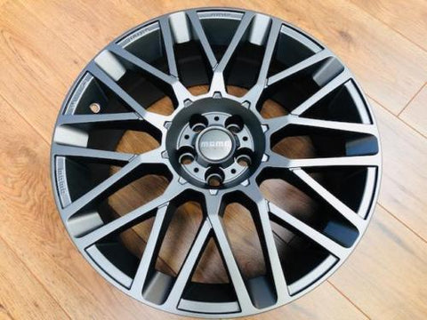"MOMO 18"" REVENGE ALLOY WHEEL PACKAGE GUNMETAL FOR T5 T5.1 T6"