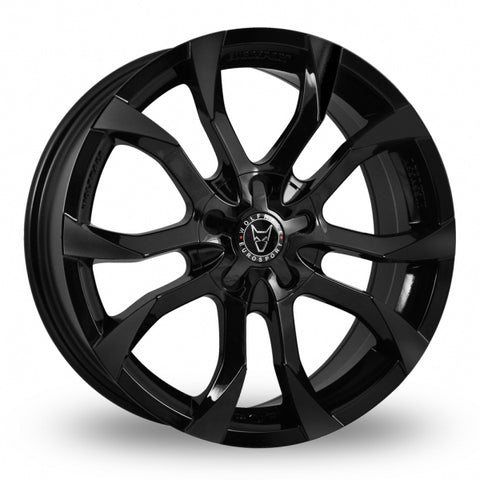 "WOLFRACE ASSASSIN 18"" WHEEL & TYRE PACKAGE (BLACK)"
