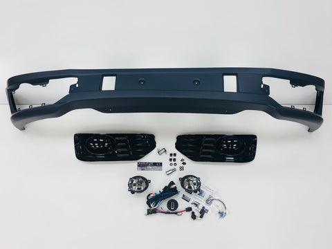 T5.1 Sportline Lower Front Spoiler & Fog Light Kit
