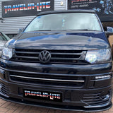 T5.1 Sportline Grille Gloss Black With Front & Rear Matte Black Badges 10-15