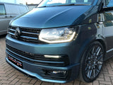 T6 Sportline Lower Spoiler & Gloss Black Upper + Lower Grilles, DRL, Badges