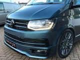 T6 Sportline Lower Spoiler, Gloss Black Upper & Lower Grilles, Twin Spoiler