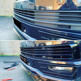 T6 Front And Rear Primed Bumpers Sportline Lower Spoiler Gloss Black Grille