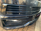 T6 Front & Rear Smooth Primed Bumpers & Gloss Black Grille 15 Onwards NEW