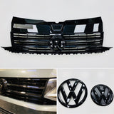 T6 Transporter Gloss Black Grille With Front & Rear Badges Great Quality