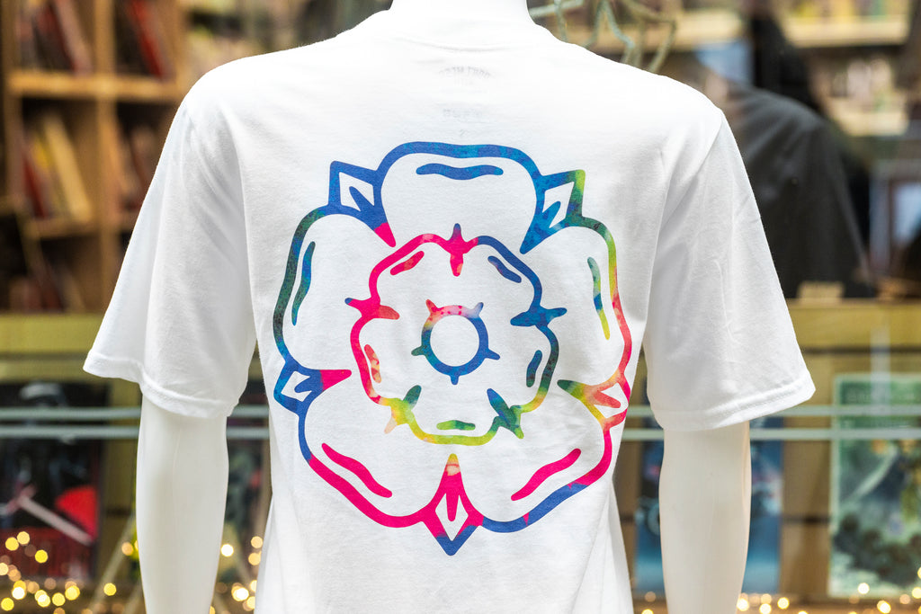 Rose S/S T-shirt White / Multi
