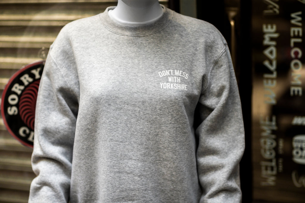Rose Crew Sweatshirt Grey Heather