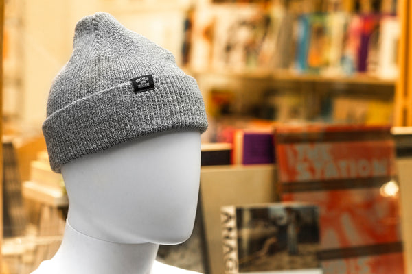 Classic Beanie Heather Grey
