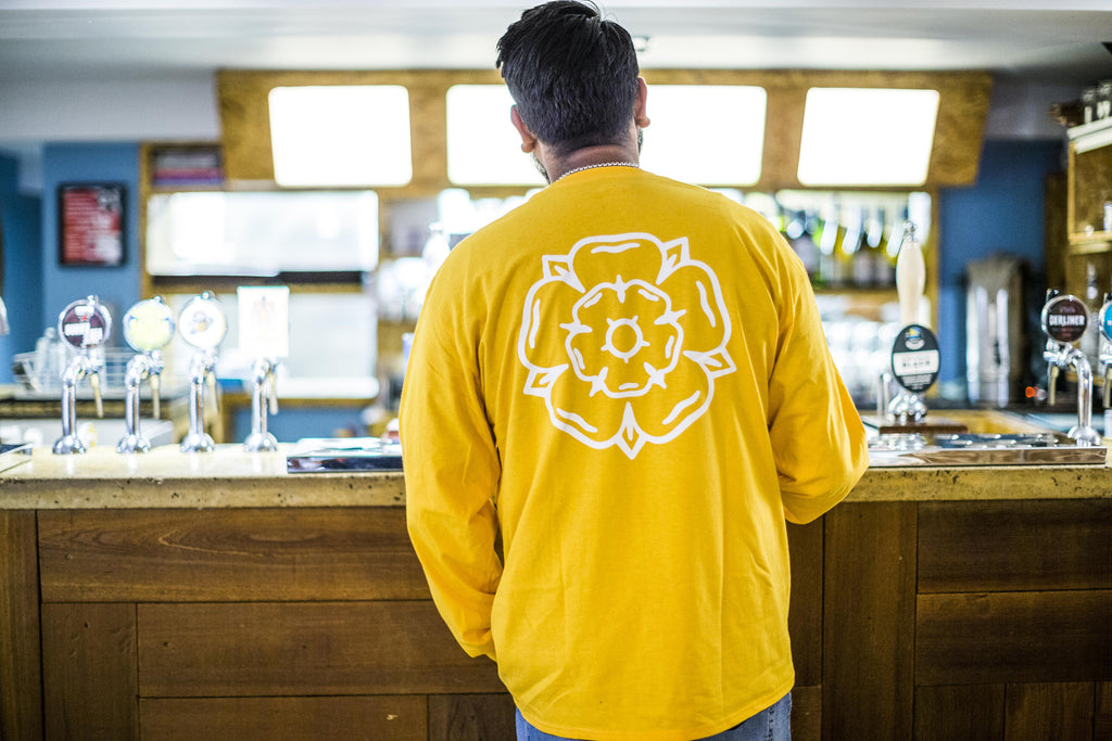 Rose L/S T-shirt Gold