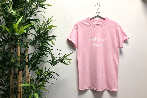Yorkshire Made S/S T-shirt Pink