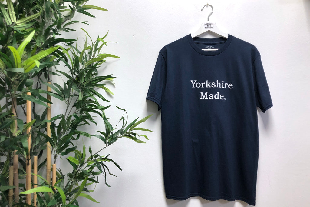 Yorkshire Made S/S T-shirt Navy