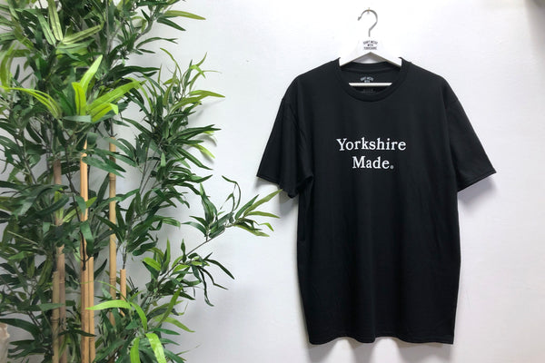 Yorkshire Made S/S T-shirt Black