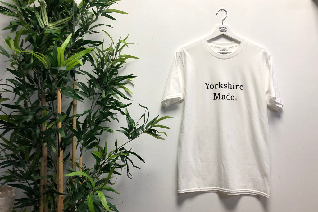 Yorkshire Made S/S T-shirt White