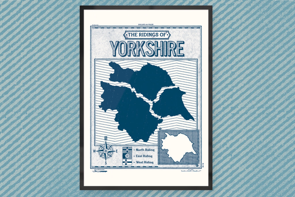 Yorkshire Print by Things on Fire