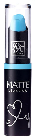 Kiss Ruby Kisses Matte Lipstick Aquatic Blue (6 Pack)