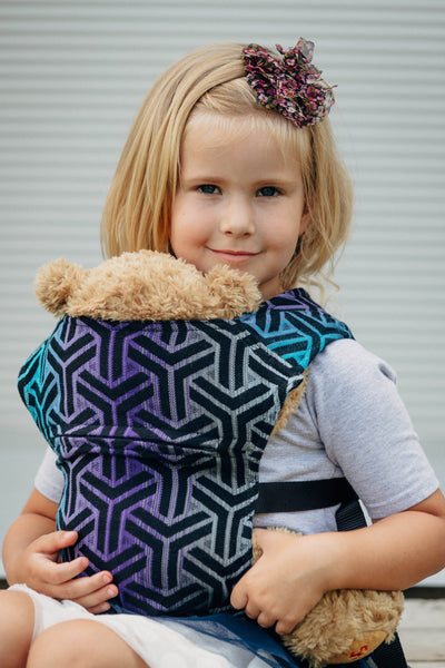 Doll Carrier made of woven fabric, 100% cotton - TRINITY COSMOS