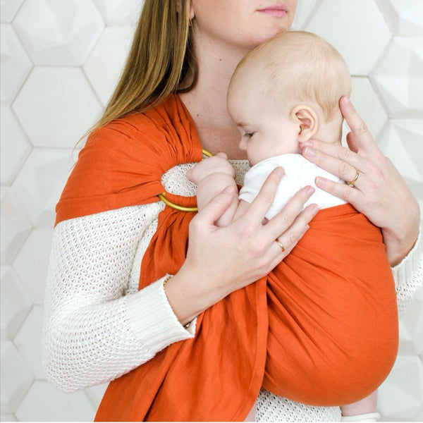 Okrosh ring sling (cotton linen)