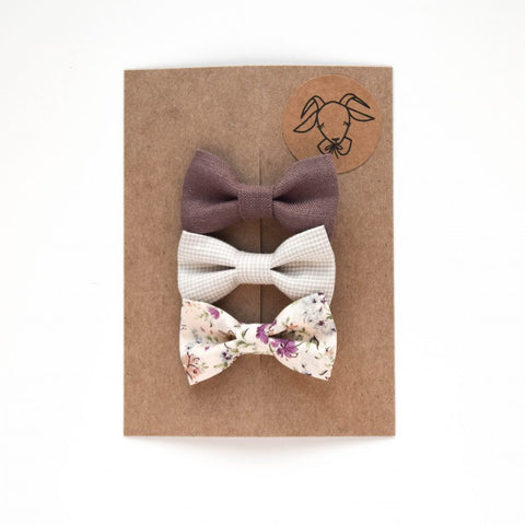 Headband Bow Set 3 (Regular size)