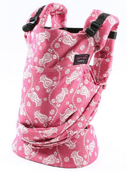 Emeibaby Hybrid Baby Carrier Full Paisley Barberry