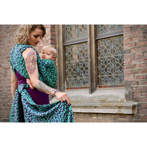 Yaro Pussycat Ultra Purple Green Ring sling
