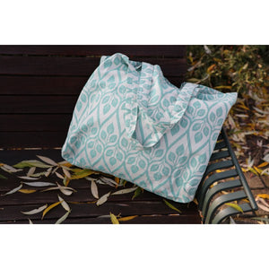 Yaro shopper bag - Emerald