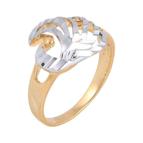 100 Degreez 18 K Gold Plated Ring JP 10471