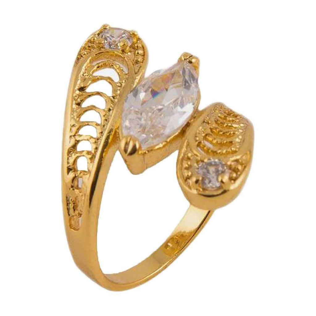 24 K Gold Plated Ring JP 11367