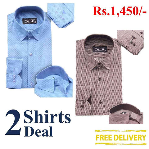 Pack Of 2 Shirts Deal 11
